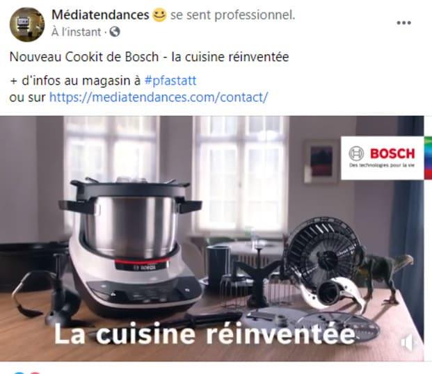 Nouveau Cookit de Bosch - la cuisine réinventée + d'infos au magasin à #pfastatt