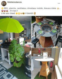 ☀️ BBQ , plancha , ventilateur, climatiseur mobile , tireuse a bière 🍺... 🤩🤩🤩... En expo ! L'été sera chaud 🌼☀️🍻😎 A bientôt 🙋